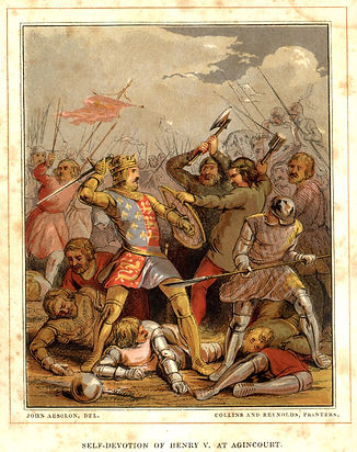 Peter Parley Annual 1849 - Henvy V at Agrincourt by Collins & Reynolds