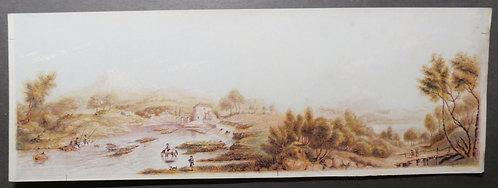 Llangollen AND Calder Idris - George Baxter Print