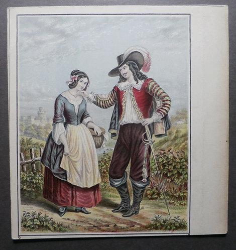 The Cavalier - Le Blond print