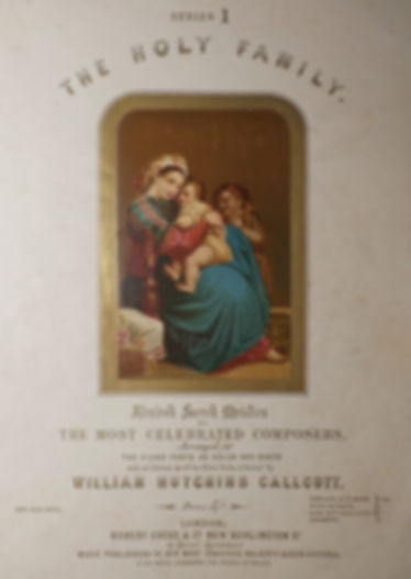 The Holy Family - Admired Sacred Melodies - William Hutchins Callcott