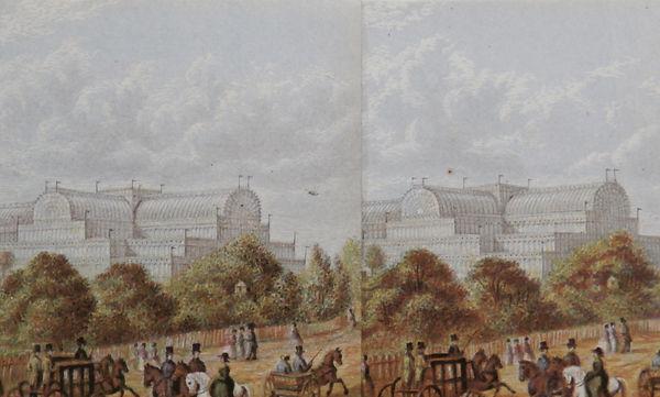 Crystal Palace Sydenham - George Baxter Process