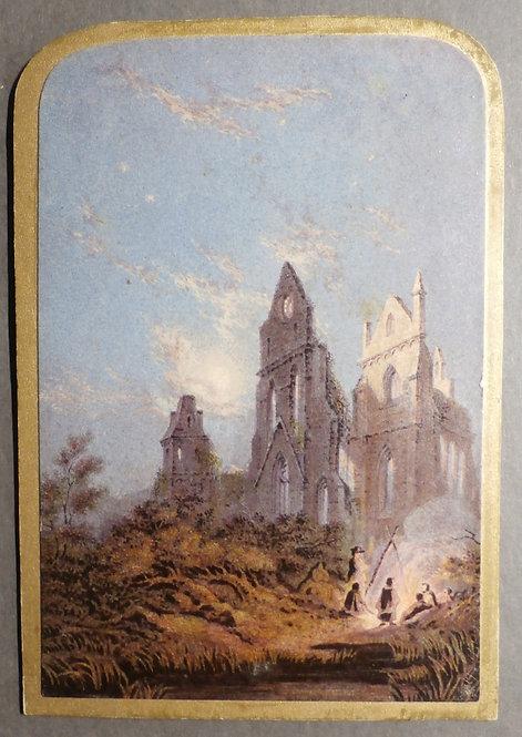 St Ruth's Priory - George Baxter print