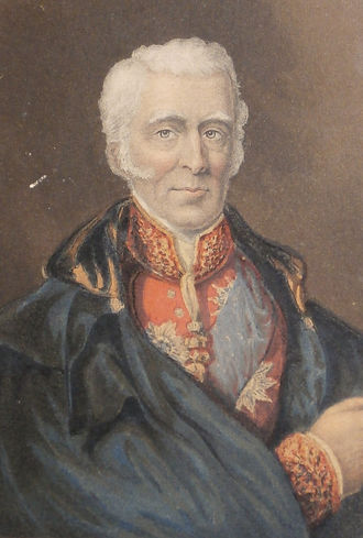 Duke of Wellington - George Baxter Print