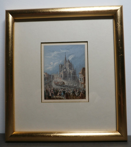Eu Cathedral - Baxter Print