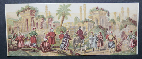 Bradshaw & Blacklock - Albanian Scenes - Needle box Prints - George Baxter Process