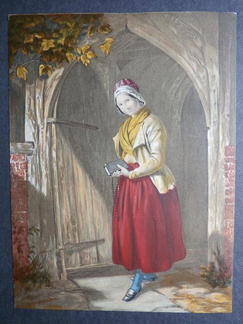 Returning from Prayer - Le Blond Baxter print