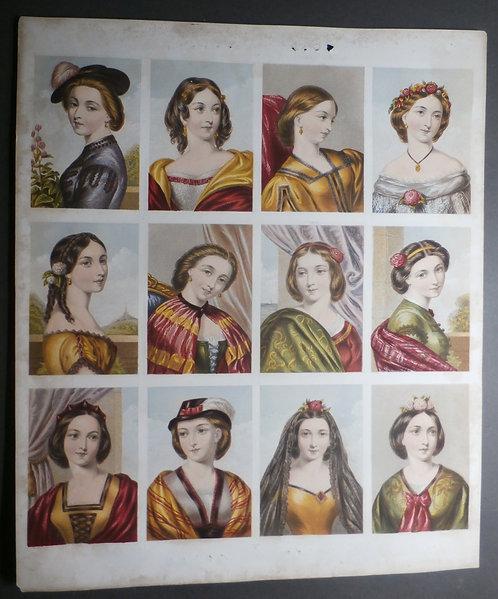 J M Kronheim & Co - New Hall Vault - Baxter Prints