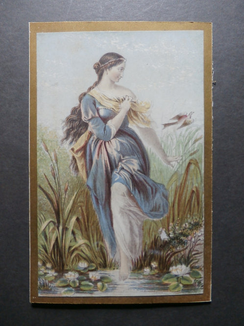 The Lady of the Lilies - Le Blond Print