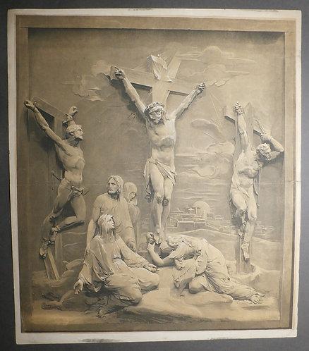 Le Blond Baxter Print - The Crucifixion