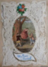 Joseph Mansell - George Baxter Licensee - Valentine Cards