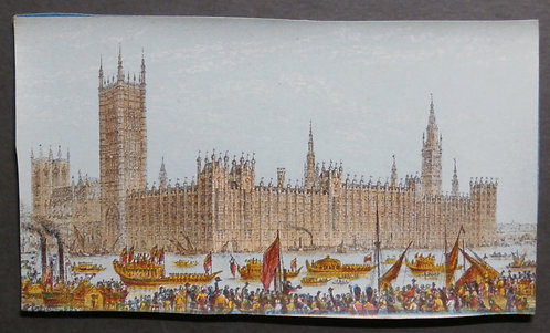 New Houses of Parliament - Le Blond Print