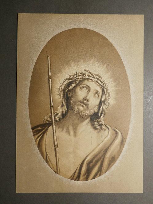 The Saviour – Ecce Homo! - George baxter Print