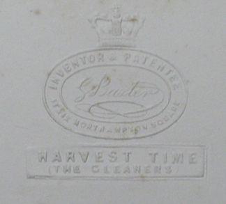 Baxter Print - Stamped Mount - Embossed Mount
