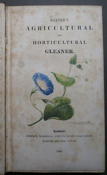 Baxter's Agricultural and Horticultural Gleaner - Baxter