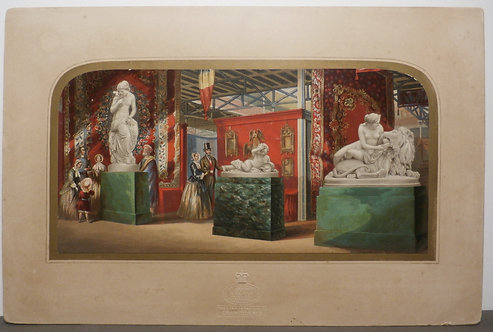 Gems of the Exhibition No 2 - George Baxter Print - Great Exhibition 1851