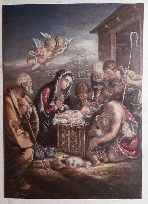 The Birth of the Saviour - George Baxter Prints