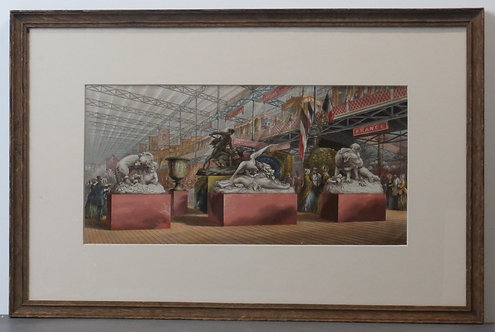 Gems of the Great Exhibition No 4 - George Baxter Print