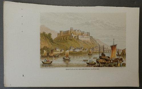 Castle of Heidleberg on the Rhine - Le Blond & Co
