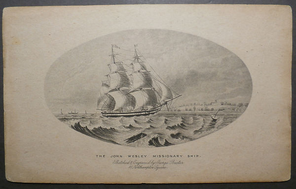 John Wesley Missionary Ship by George Baxter