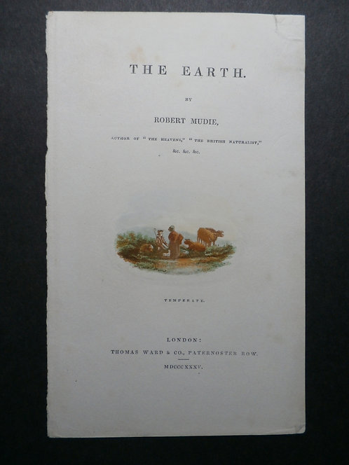 Temperate - The Earth by Robert Mudie - George Baxter Print