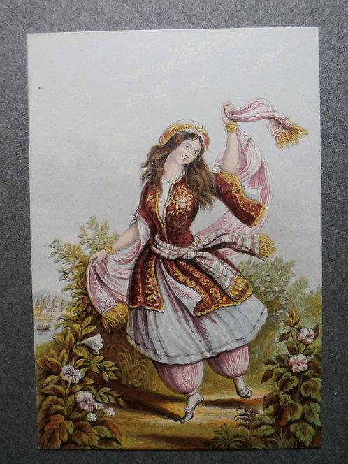 An Eastern Dancer - Le Blond Print