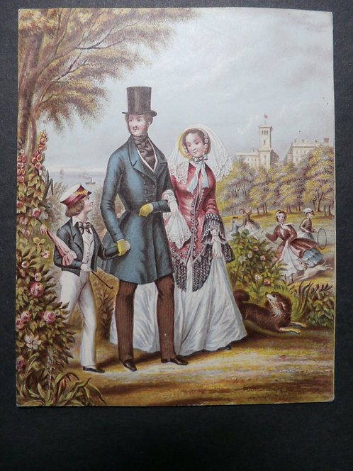 Her Majesty at Osborne - Queen Victoria - Prince Albert - Le Blond