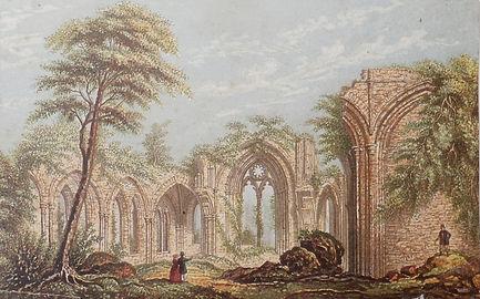 Netley Abbey by Joseph Mansell