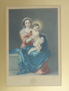 Fake Baxter Print - The Holy Family