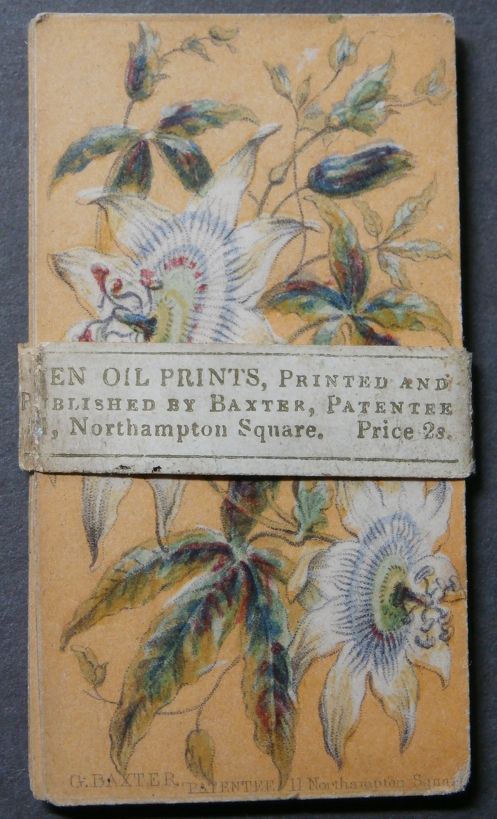 Baxter OIl Prints in original wrapper