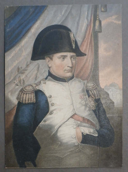 The Emperor Napoleon I - George Baxter Print