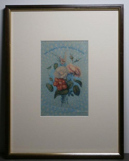 Baxter print - The Queen's Floral Needbox Set