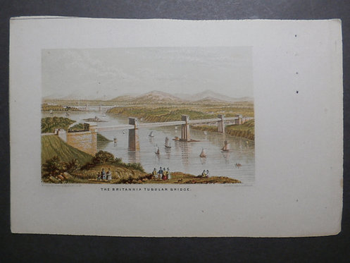 The Britannia Bridge - Le Blond Print