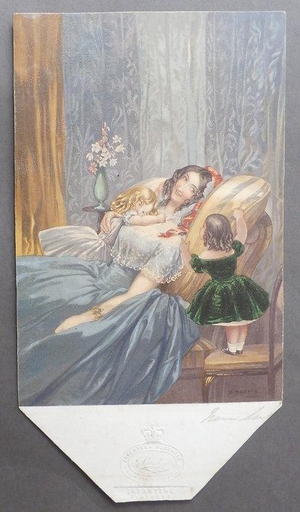Infantine Jealousy - George Baxter Print