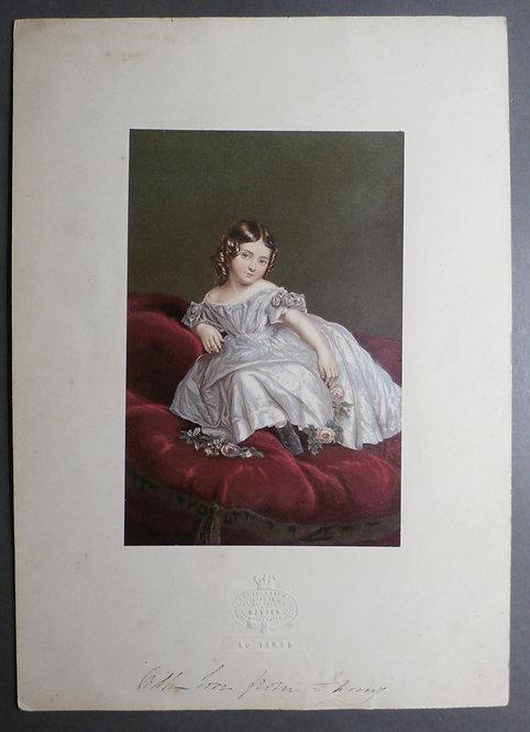 So Tired - Baxter Print - Princess Royal