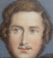 Prince Albert a close up of agenuine Baxter print