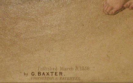 See Saw Margery Daw - a genuine Baxter print