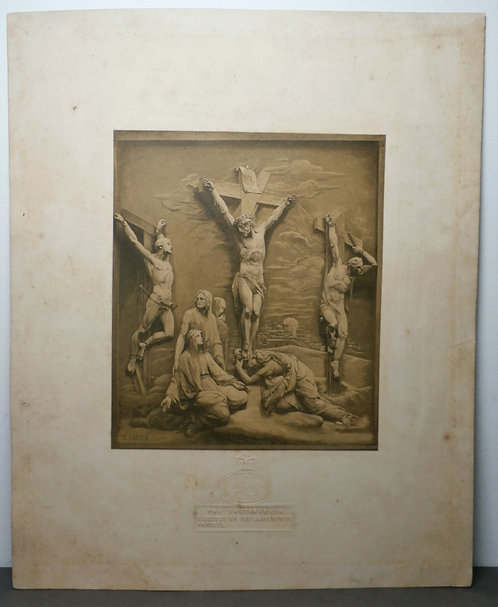 The Crucifixion - Baxter Print