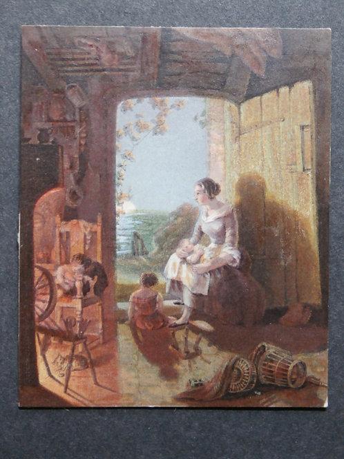 The Fisherman's Home - George Baxter print
