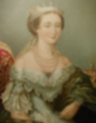 Eugenie, Empress of the French - George Baxter