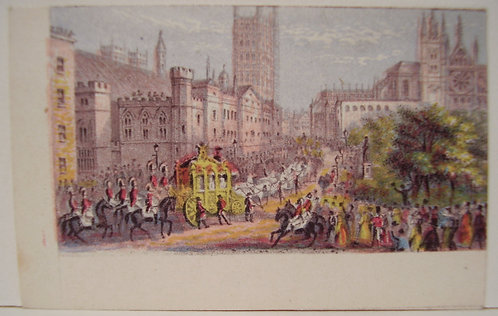 Le Blond - Needle box Print - Queen Victoria opening Parliament
