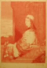 Moorish Bride - posthumous baxter print