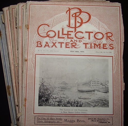 George Baxter Times  - BP Collector - Baxter Prints