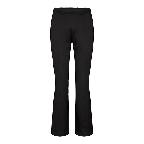 Co´Couture Sikke Flare Twill Pants Black