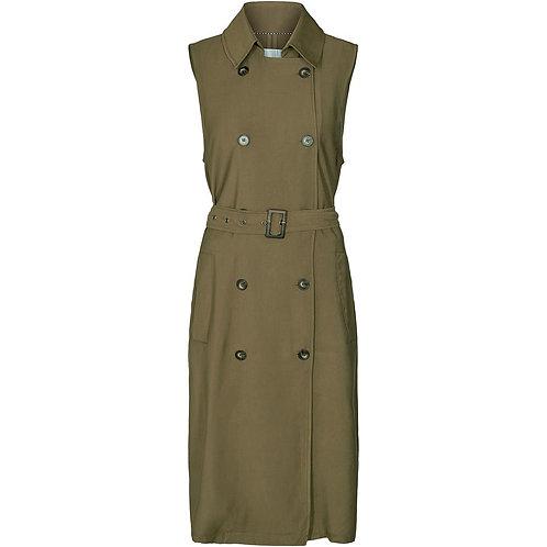 Co´Couture Tatjana Trenchcoat Vest Walnut