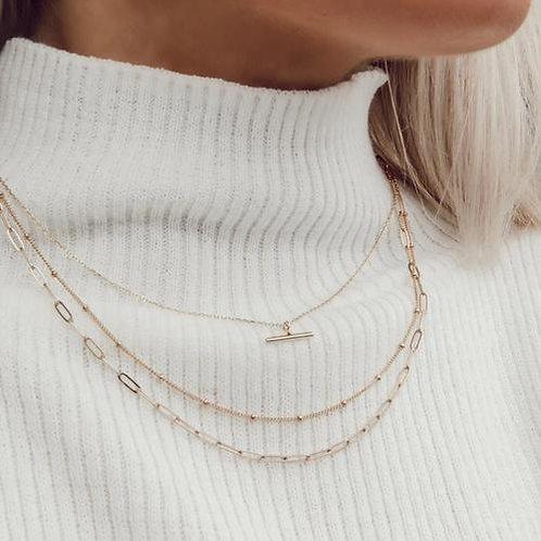 Orelia London Halskjede Satellite Chain Gold