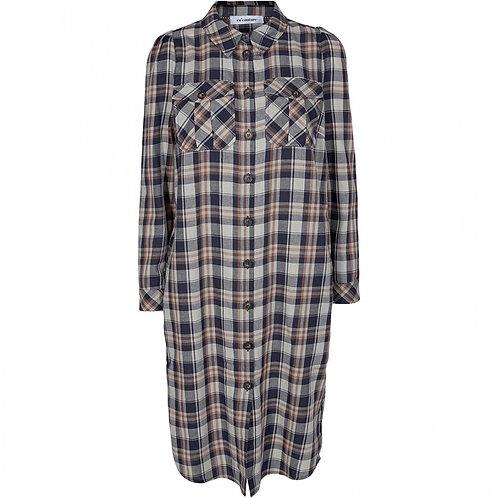 Co´Couture Uni Check Shirt Dress