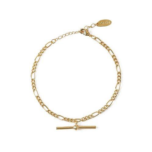 Orelia London Armbånd Chunky T-bar Figaro