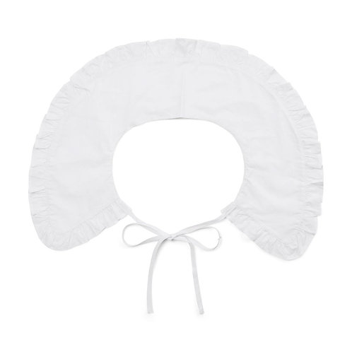 Co´Couture Loose Frill Collar White
