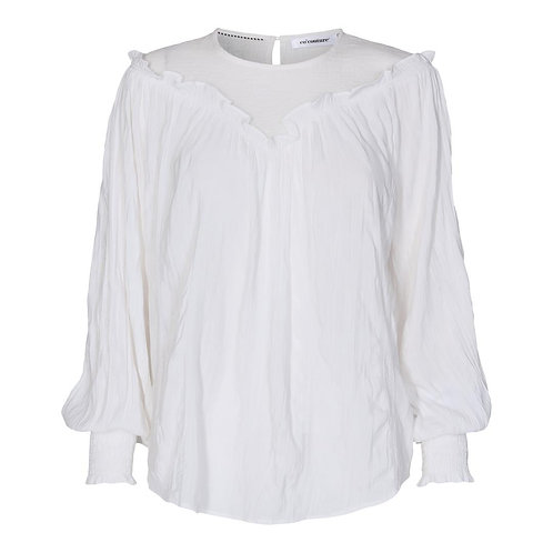 Co´Couture Crepe Mix Blouse White