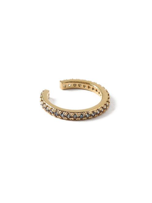 Orelia London Indian Saphire Ear Cuff Gold